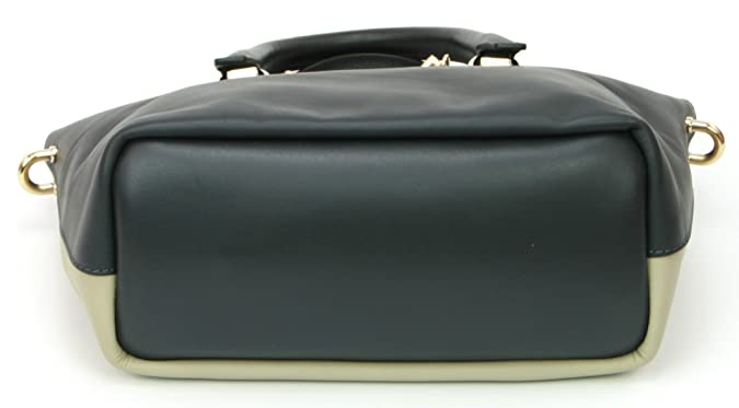 Chloe Porte Epaule Baylee Leather Shoulder Hand Bag RRP £880 Black Grey   Amazon.co.uk  Shoes   Bags f3e4910fbf6dd