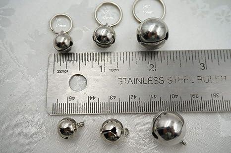 FidgetGear - Cascabeles para Collar de Gato de 16 mm, 1/2 ...