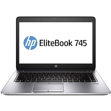 Ordenador portátil HP ELITEBOOK 745 G2, AMD Quad Core A10, RAM de 8 GB, HDD de 500 GB, Radeon R6, Windows 10 COA: Amazon.es: Informática