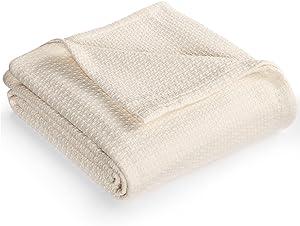Lauren by Ralph Lauren Classic Cotton King Blanket Cream