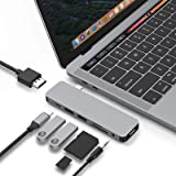 HyperDrive USB-C Hub Adapter, Sanho Solo 7-in-1 Type C Dongle for MacBook Pro, PC w USB-C Port: USBC 60W Power Delivery, USBC