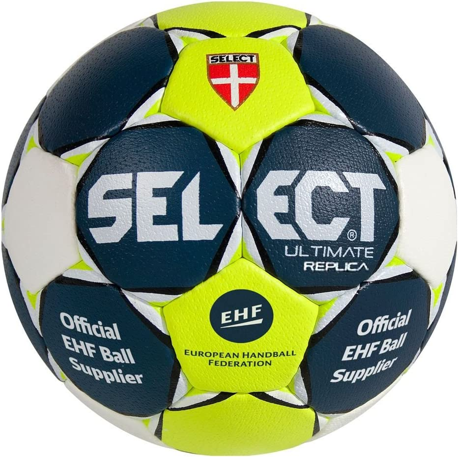 Select Ballon Ultimate Replica Marine/Blanc/Jaune