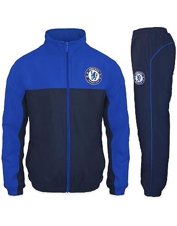 2231a790a510e Chelsea FC officiel - Lot veste et pantalon de survêtement thème football -  garçon