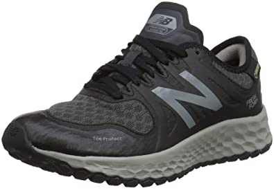 7617e025e19e9 New Balance Women's Trail Kaymin Gore Tex Running Shoes, Black (Black/Grey)