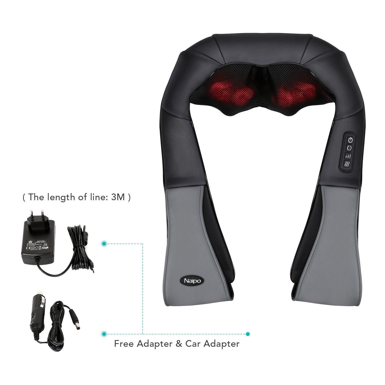 Naipo MGS-801 Nackenmassagegerät Zubehör