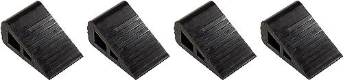 Vestil RBW-2 Industrial Rubber Wedge, 6-1 2 Length, 4 Width, 3 Height F ur Pa k