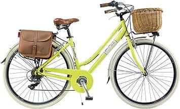 Via Veneto by Canellini Bicicleta Bici Citybike CTB Mujer Vintage Retro Via Veneto Aluminio: Amazon.es: Deportes y aire libre