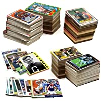 600 Football Cards Including Rookies, Many Stars, & Hall-of-famers. Ships in New White… photo