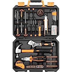 DEKO Juego de herramientas de 100 piezas