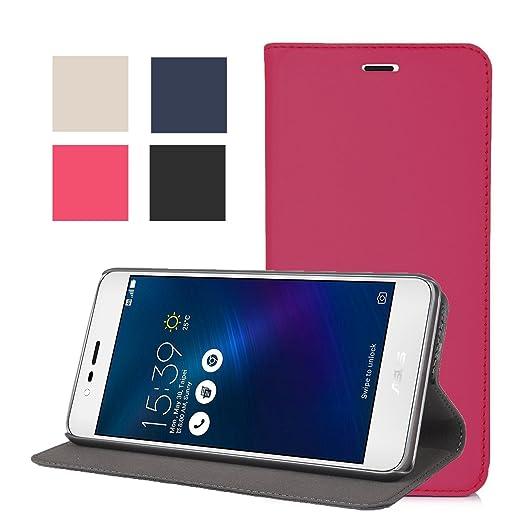 5 opinioni per ELTD Asus ZenFone Go ZB500KL Flip Cover, Wallet Stlye Super Slim Perfect Fit