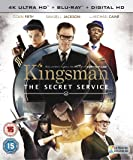 Kingsman - The Secret Service [Edizione: Regno Unito] [Blu-ray] [Import anglais]