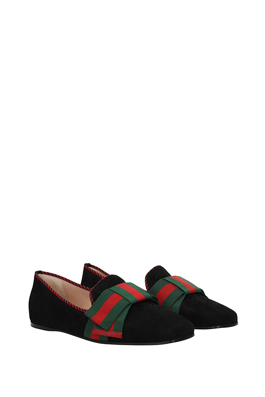 Mocasines Gucci Mujer - Gamuza (497491DE880) EU: Amazon.es: Zapatos y complementos
