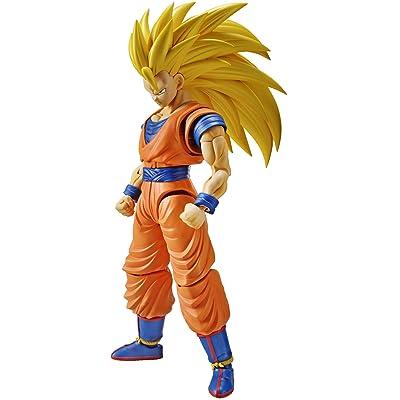 Bandai Hobby Figure-Rise Standard Super Saiyan 3 Son Goku Dragon Ball Z Building Kit: Toys & Games