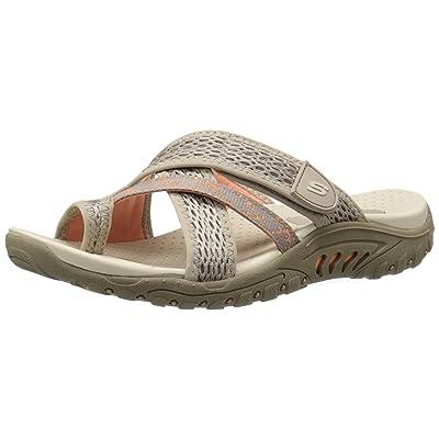 Skechers Women's Reggae Slim Slide Sandal | Sport Sandals & Slides