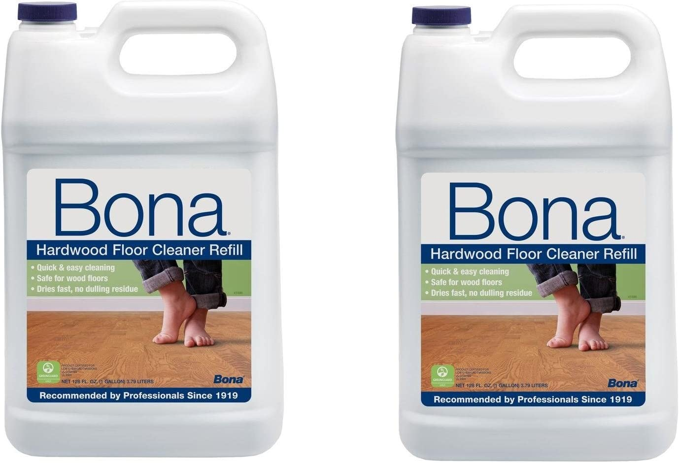 Amazon Com Bona New Value Size Package Hardwood Floor Cleaner Refill 256 Ounces Health Personal Care