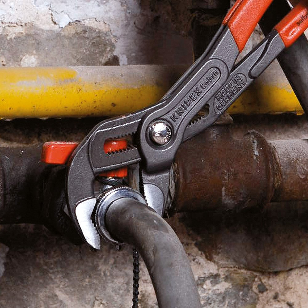 300 mm Knipex 87 02 300 SB Cobra Water Pump Plier with Soft Handle Multi-Colour