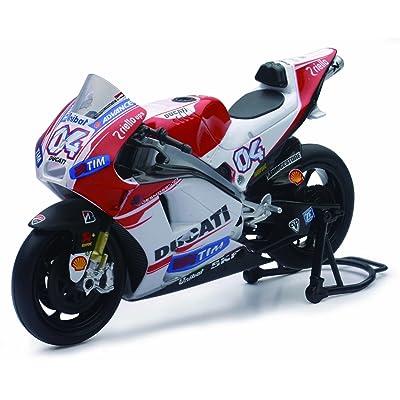 """New Ray 57723 """"Ducati Desmosedici Dovisoso No.4 Model Motorbike: Toys & Games"""