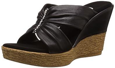 09324c2270 Amazon.com | Onex Women's Trinity, Black 9 M US | Platforms & Wedges