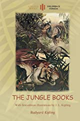 The Jungle Books: With Over 55 Original Illustrations (Aziloth Books) Paperback