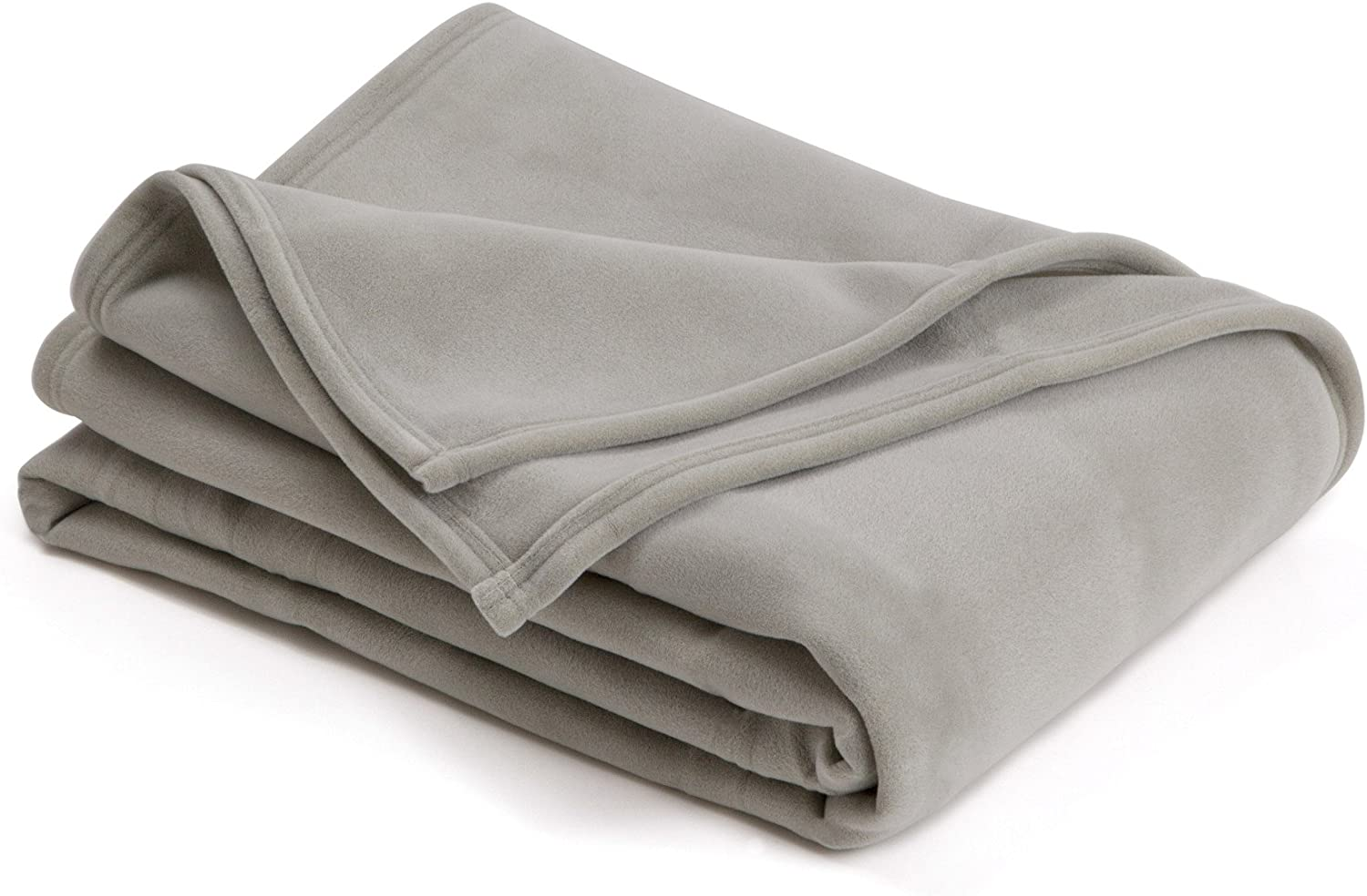 The Original Vellux Blanket - Full/Queen, Soft, Warm, Insulated, Pet-Friendly, Home Bed & Sofa - Tornado Grey