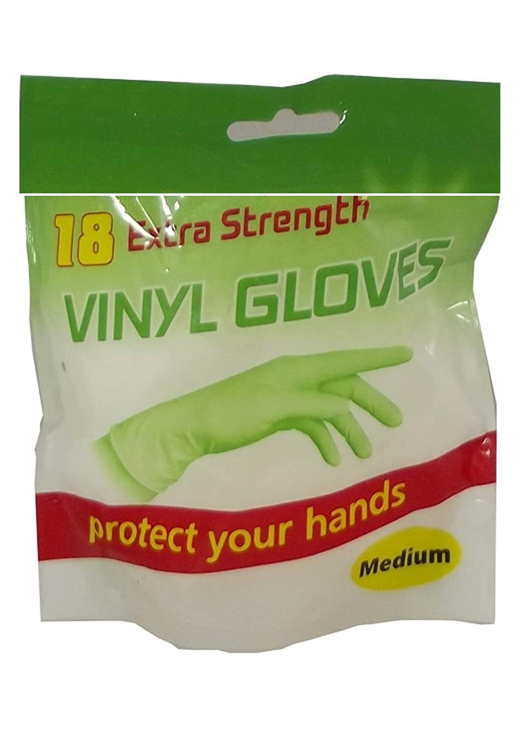 Medium 18 Clear Vinyl Powder Free Examination Gloves Latex Free Gloves And Comfortable To Wear