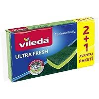 Vileda Ultra Fresh Düz Sünger 2+1