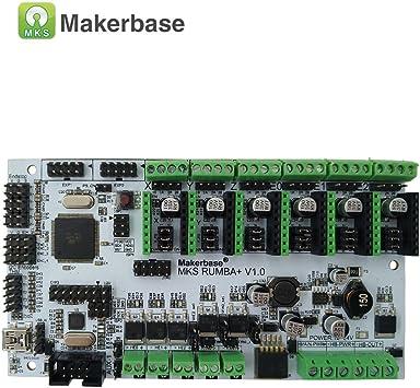 MKS Rumba - Placa de Control para Impresora 3D Arduino RepRap 2560 ...