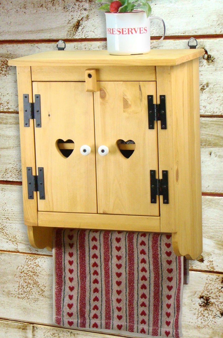 COUNTRY HOUSE(カントリーハウス) 木製 タオルキャビネット ハニーパインSC-10H-HP B01433M9IK ハニーパイン ハニーパイン