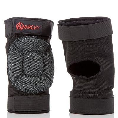 Anarchy Knee gaskets Black Medium/large