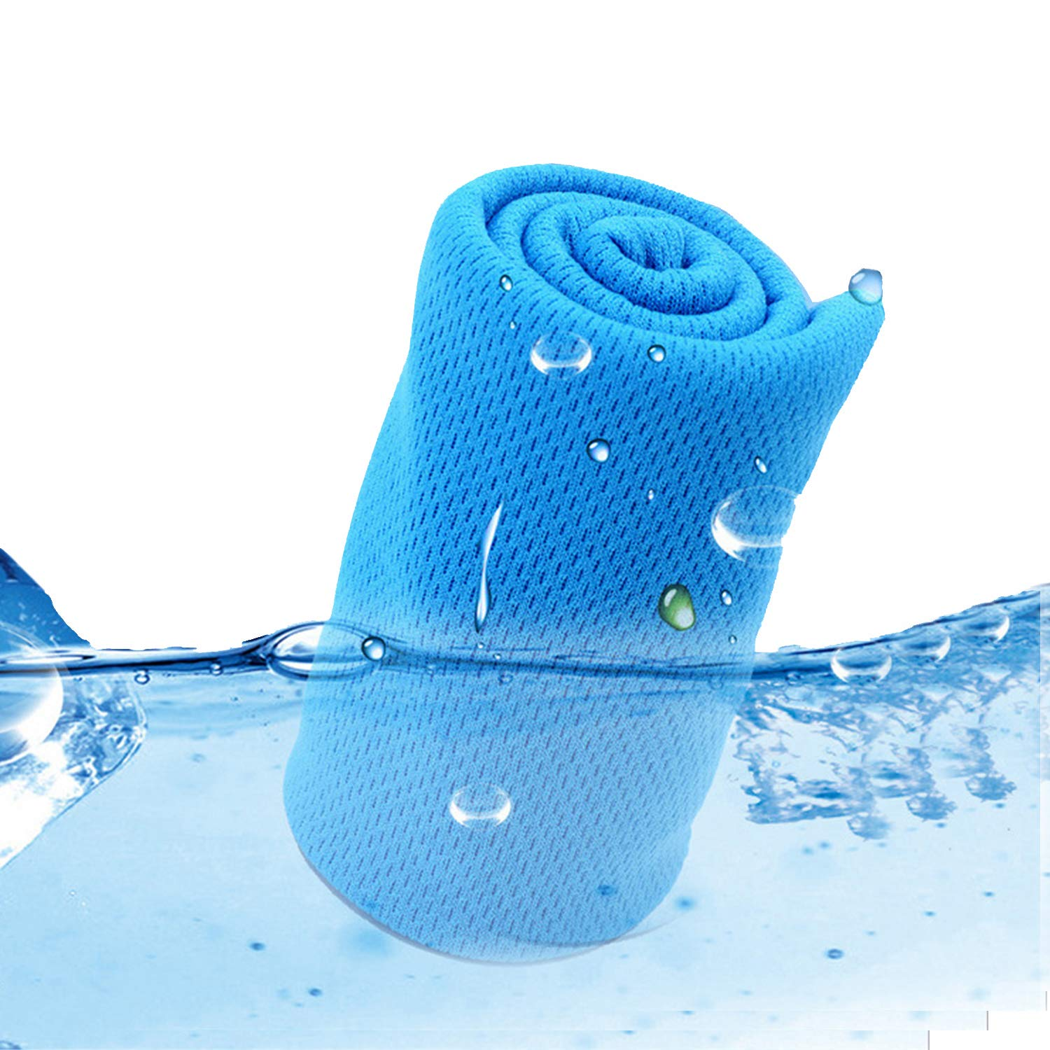 WIWISI Cooling Towels, Instant Relief ice Cold Towels for Yoga, Gym, Camping, Fitness, Workout, Sports, Travel