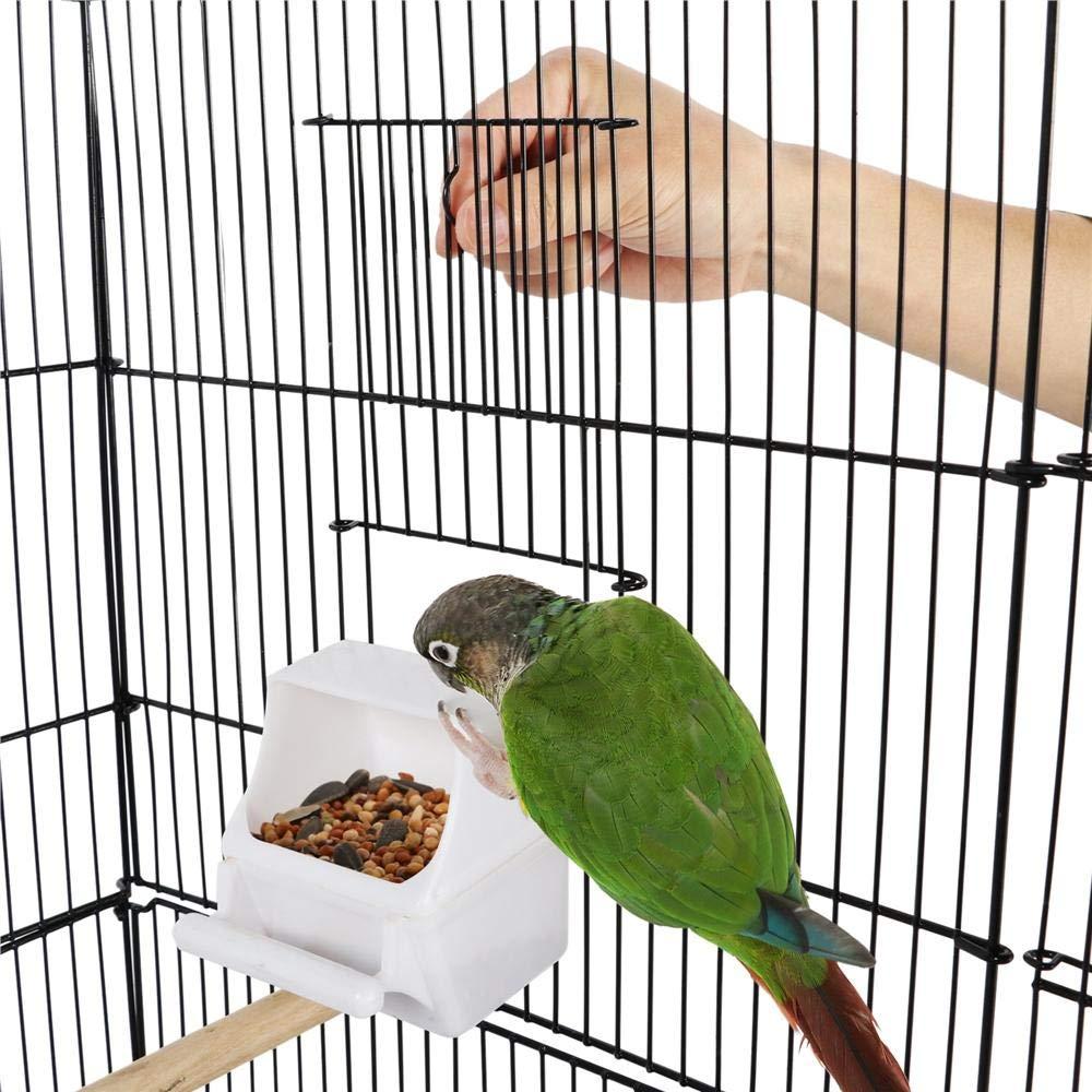 Amazon.com: Yaheetech - Jaula portátil para pájaros de ...