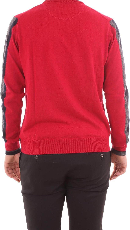 Harmont & Blaine - Camiseta roja de Cuello Redondo con Cintas en ...