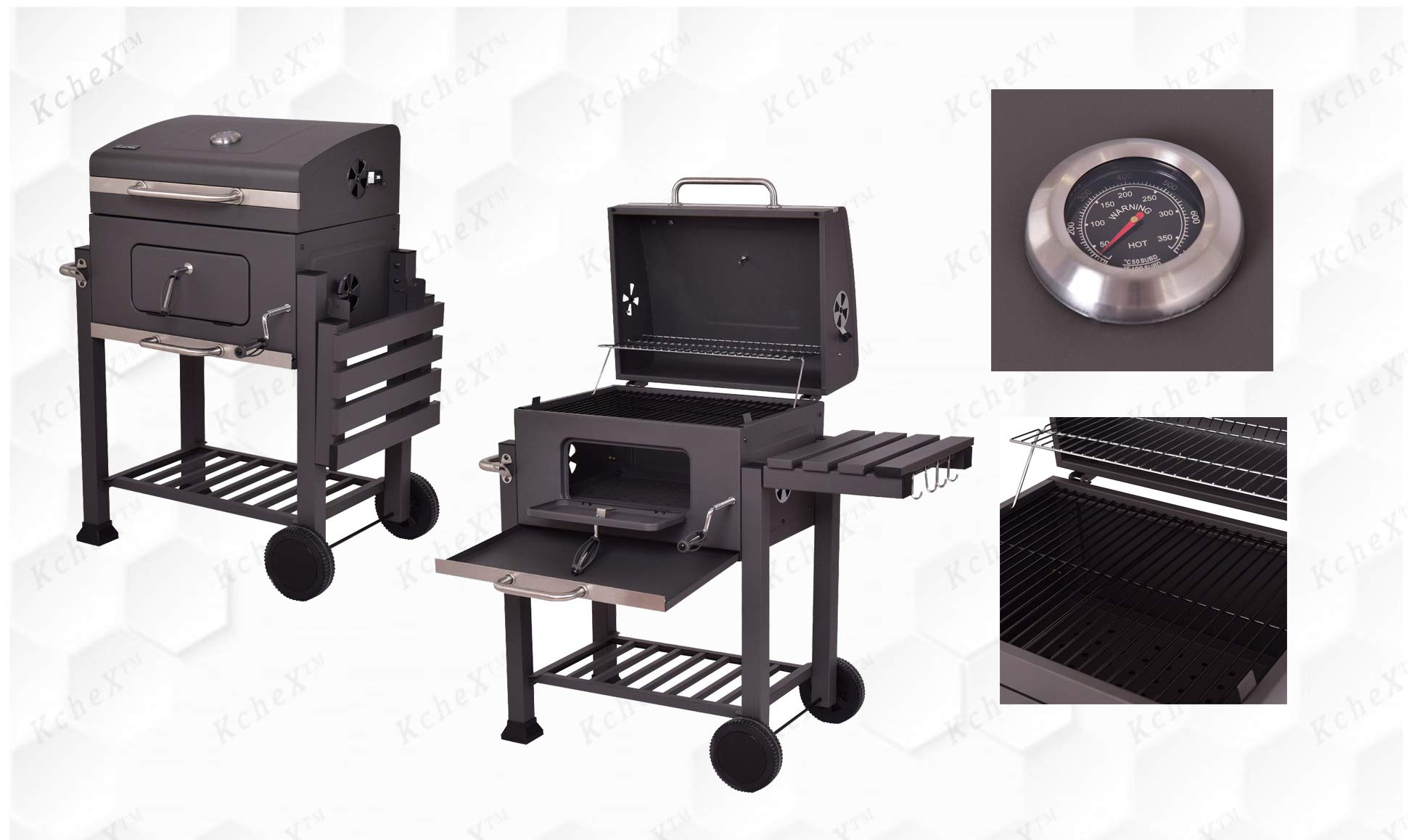 KCHEX__Charcoal Grill Barbecue by KCHEX
