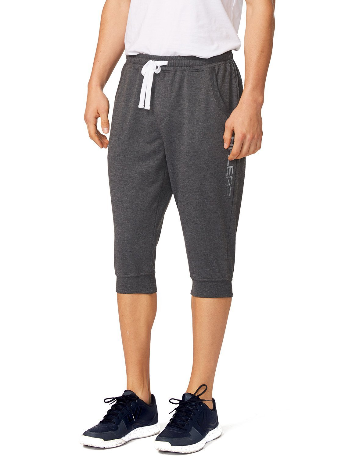 Baleaf Men's Sports Casual Jogger Capri Pant