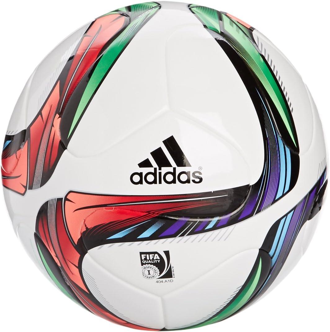 adidas Conext15TREPL - Balón de fútbol, Color Blanco/Negro/Verde ...