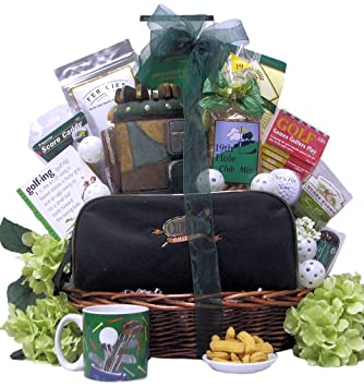 7a7ac0159247 Amazon.com : Great Arrivals Golf Gift Basket, Hole in One : Gourmet ...