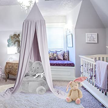 Yosoo Princess Dome Kids Canopy Bed - Easy to Hang - Cotton Children Room Play Tent & Yosoo Princess Dome Kids Canopy Bed - Easy to Hang - Cotton ...