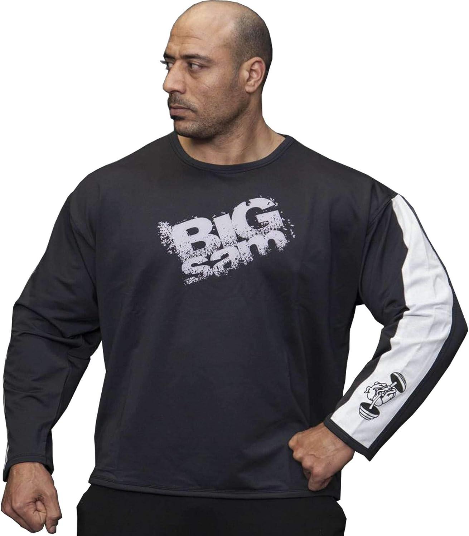 BIG SM EXTREME SPORTSWEAR Herren Sweater Sweatshirt Jacke Hoodie 4595 schwarz