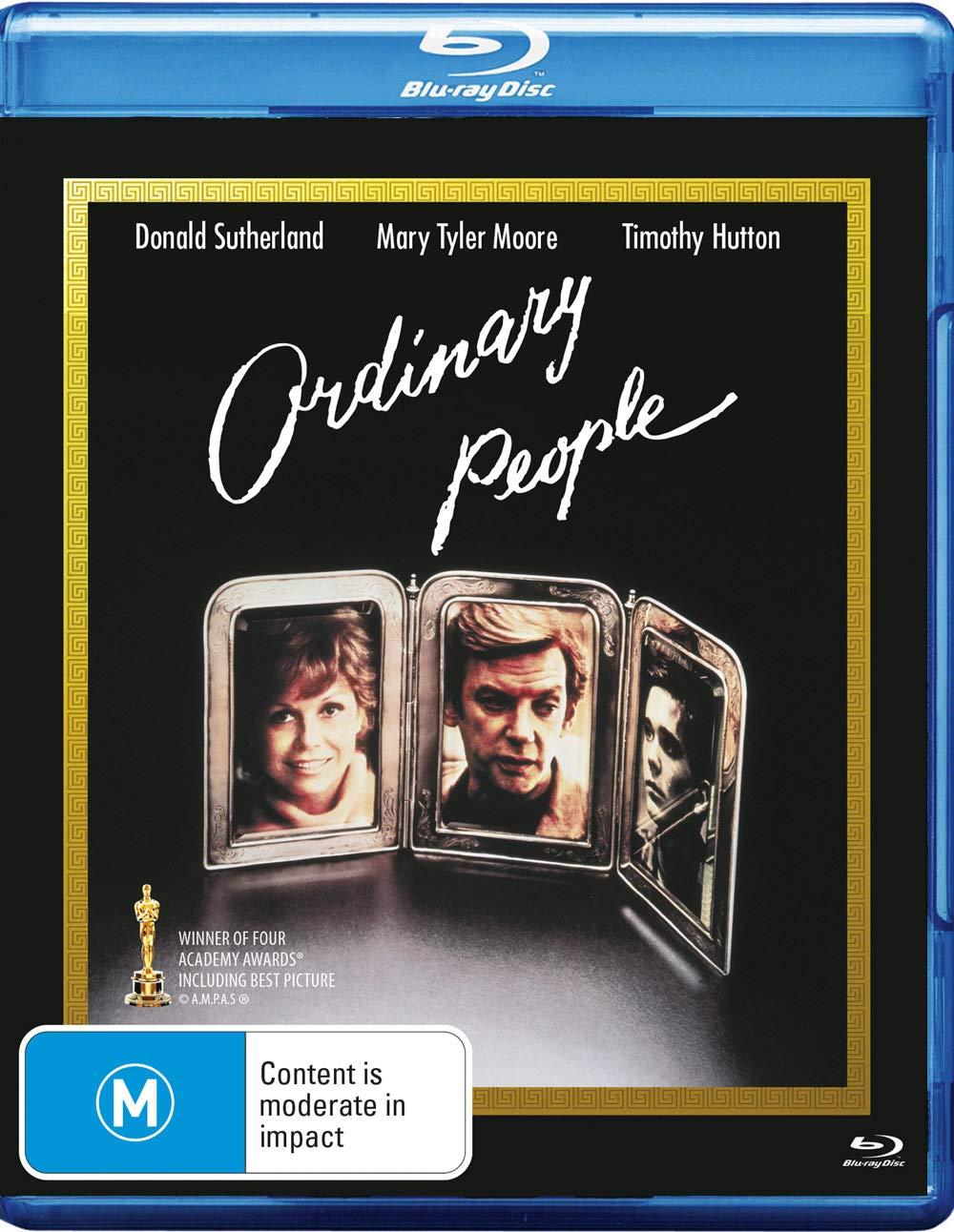 Ordinary People Blu-ray | Donald Sutherland, Mary Tyler Moore, Timothy Hutton | NON-USA Format | Region B Import Australia