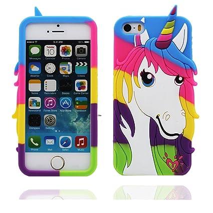 Desconocido iPhone 5s Carcasa, [ Flexible TPU Material ...
