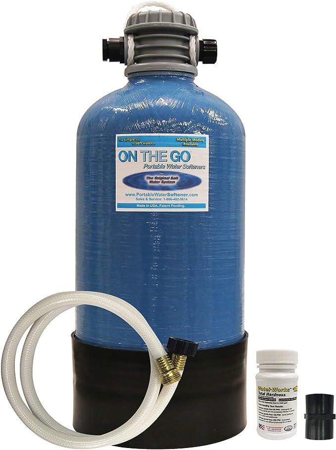 On The Go OTG4-DBLSOFT-Portable 16,000 Grain RV Water Softener