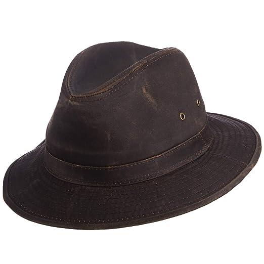 SCALA Men s Weathered Cotton Safari Hat at Amazon Men s Clothing store  9968a4dfe787