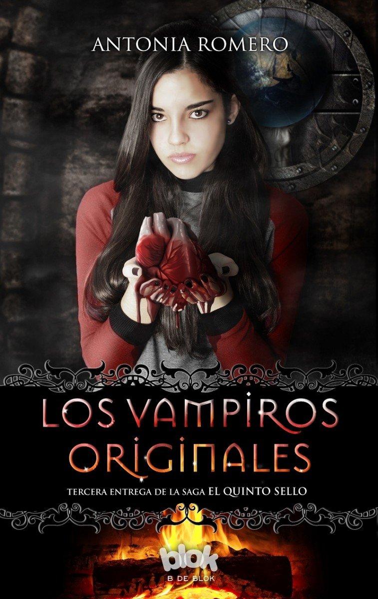 Los Vampiros originales El quinto sello 3 Sin límites: Amazon.es: Antonia Romero: Libros