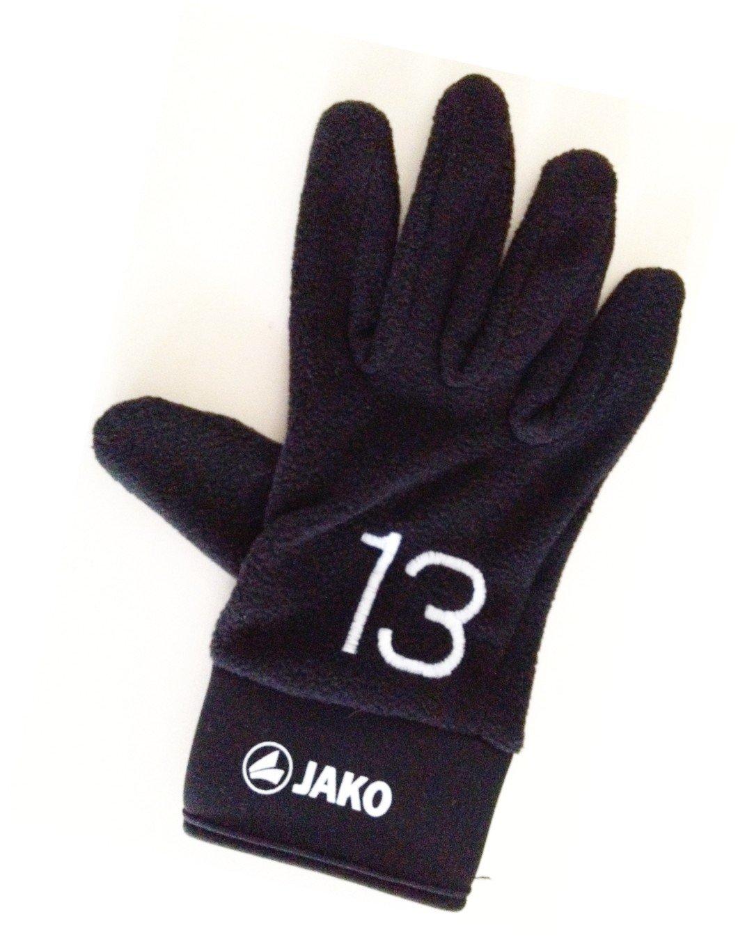 JAKO Feldspielerhandschuhe Gr.9 mit Spielernummer - Spielernummer 11