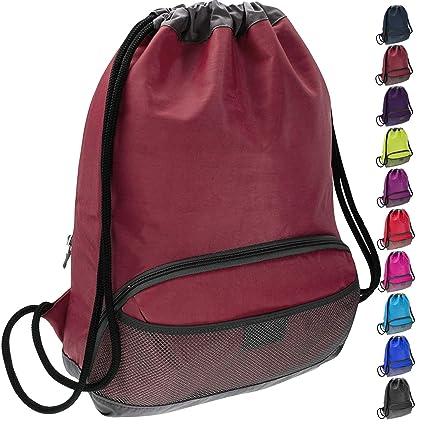 ButterFox Water Resistant Swim Gym Sports Dance Bag Drawstring Backpack  Cinch Sack Sackpack for Kids, 2456856838