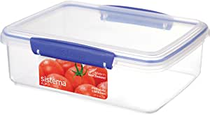Sistema Klip It Klip It 2L Klip It Food Storage Container, Clear
