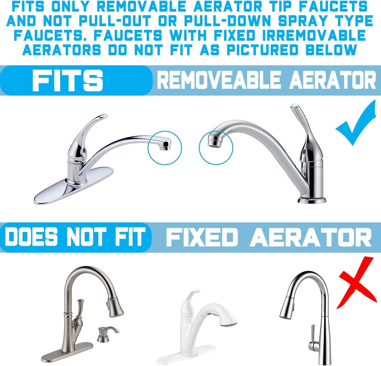 NU Aqua Premium Countertop Water Filter fitting