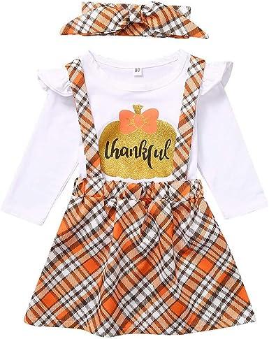 Navidad POLP Bebé Niña Conjuntos de Camiseta de Manga Larga con ...