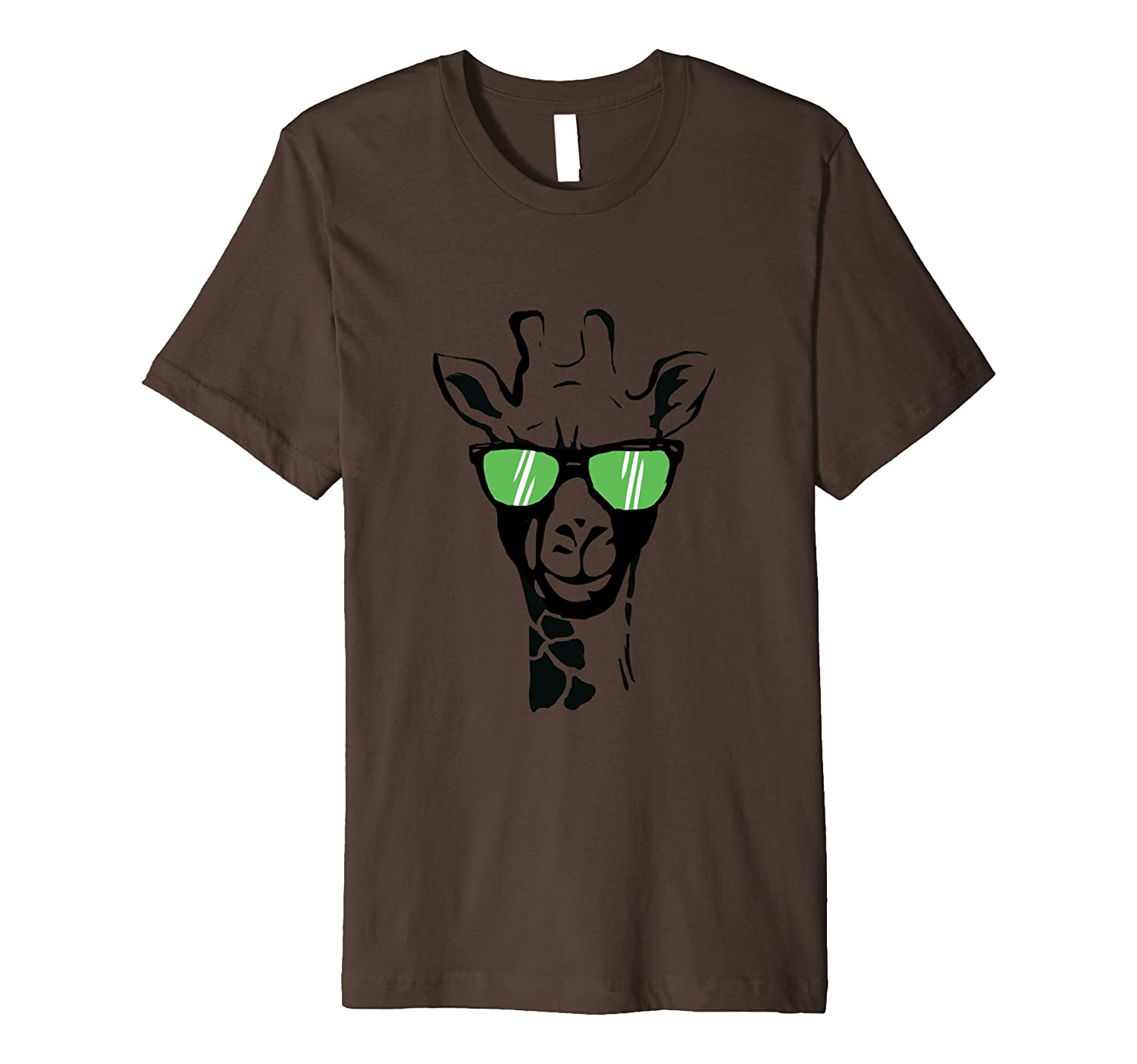 Cool Giraffe T Shirt - Giraffe Wearing Sunglasses Tee-AZP