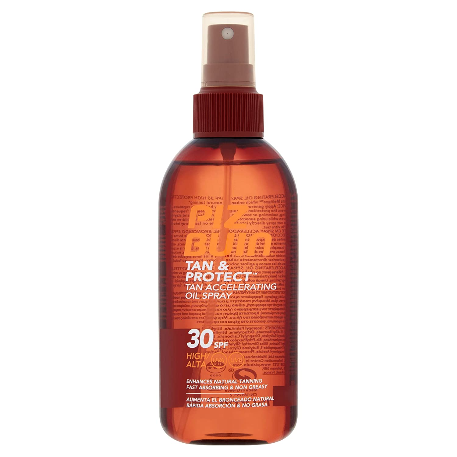Piz Buin Tan and Protect Accelerating Oil Spray SPF 30 150 ml by Piz Buin Johnson & Johnson 026048 41973